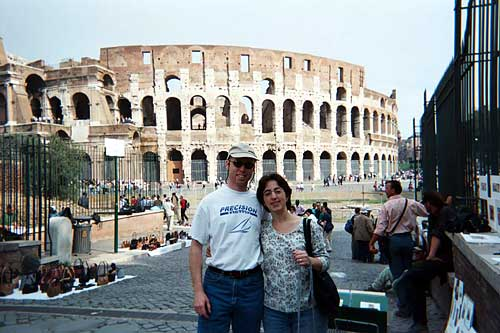 Kevin and Marni at the Coliseum