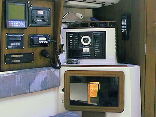Precision 27 Navigation and Electrical Panel